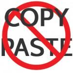 Copiar y pegar notas de prensa no es periodismo.